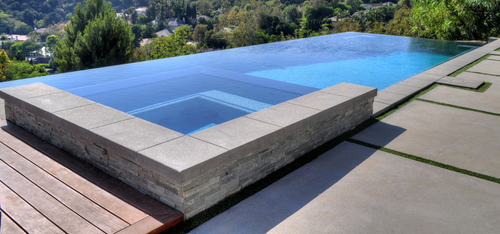 Beverly Hills Vanishing Edge Pool Designer
