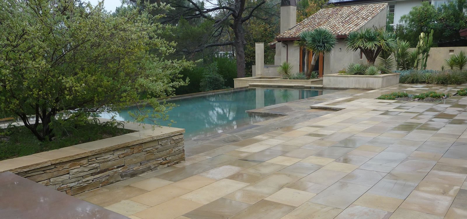 Brentwood Outdoor Living Spaces with Gazebos and Custom Hardscape