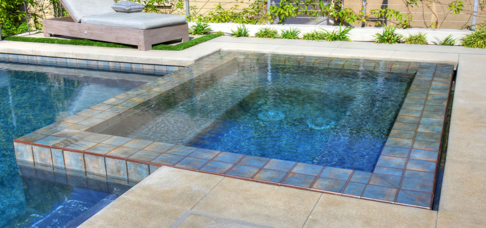 Los angeles outdoor living spaces w pool spa custom for Pool design los angeles