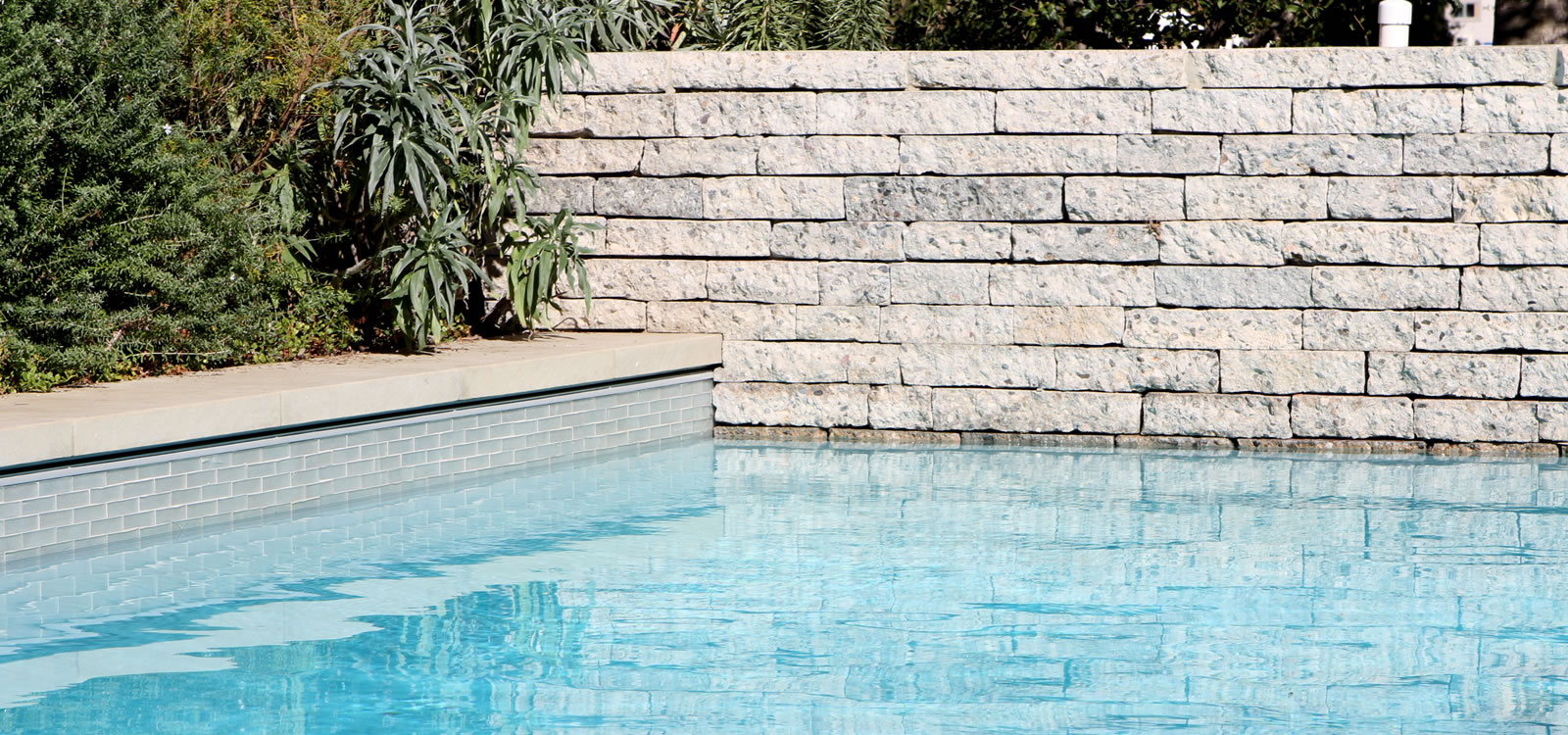 Los Angeles Pool & Spa Design with BBQ Island and Fire Feature