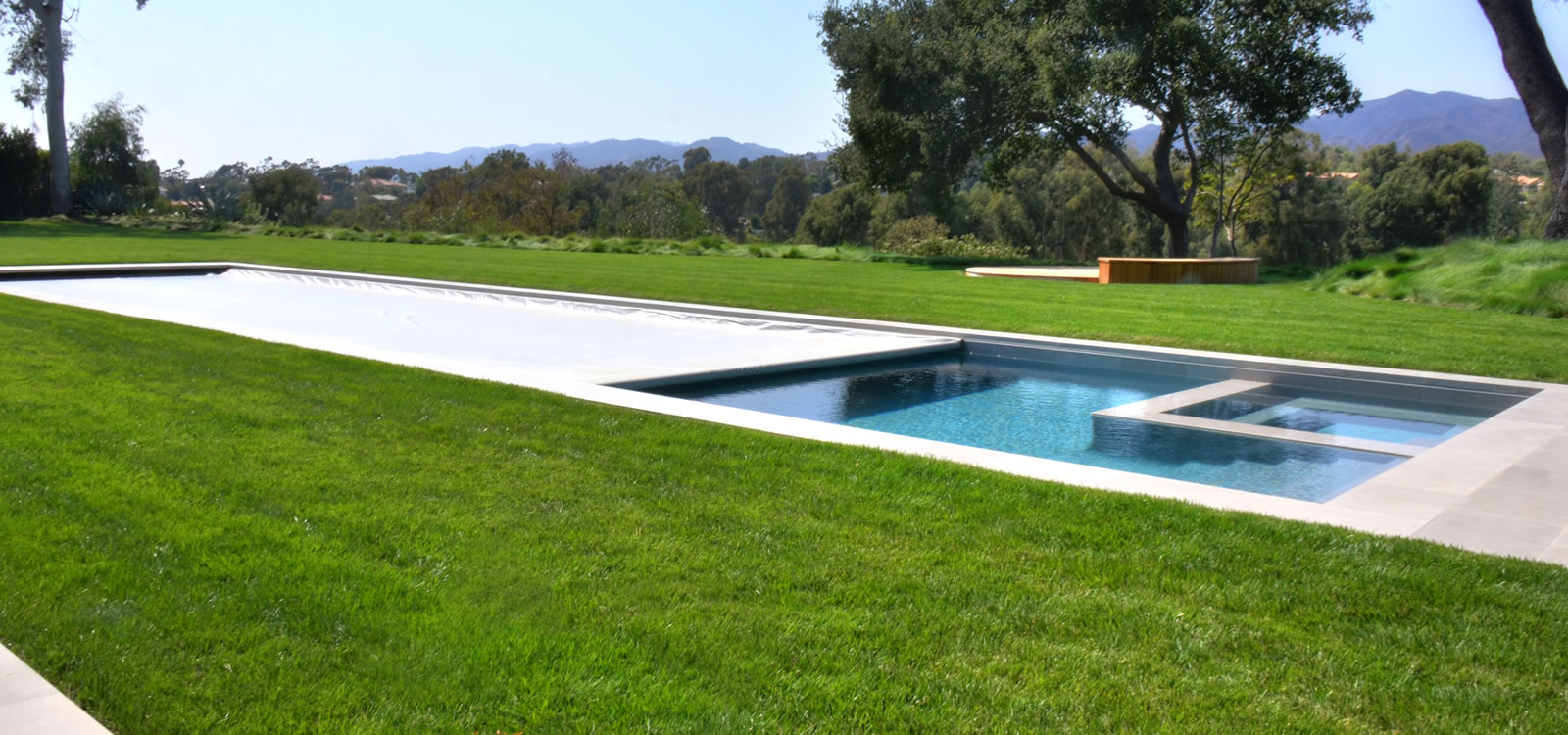 Santa monica pool spa design w pool cover by john for Design pond cover