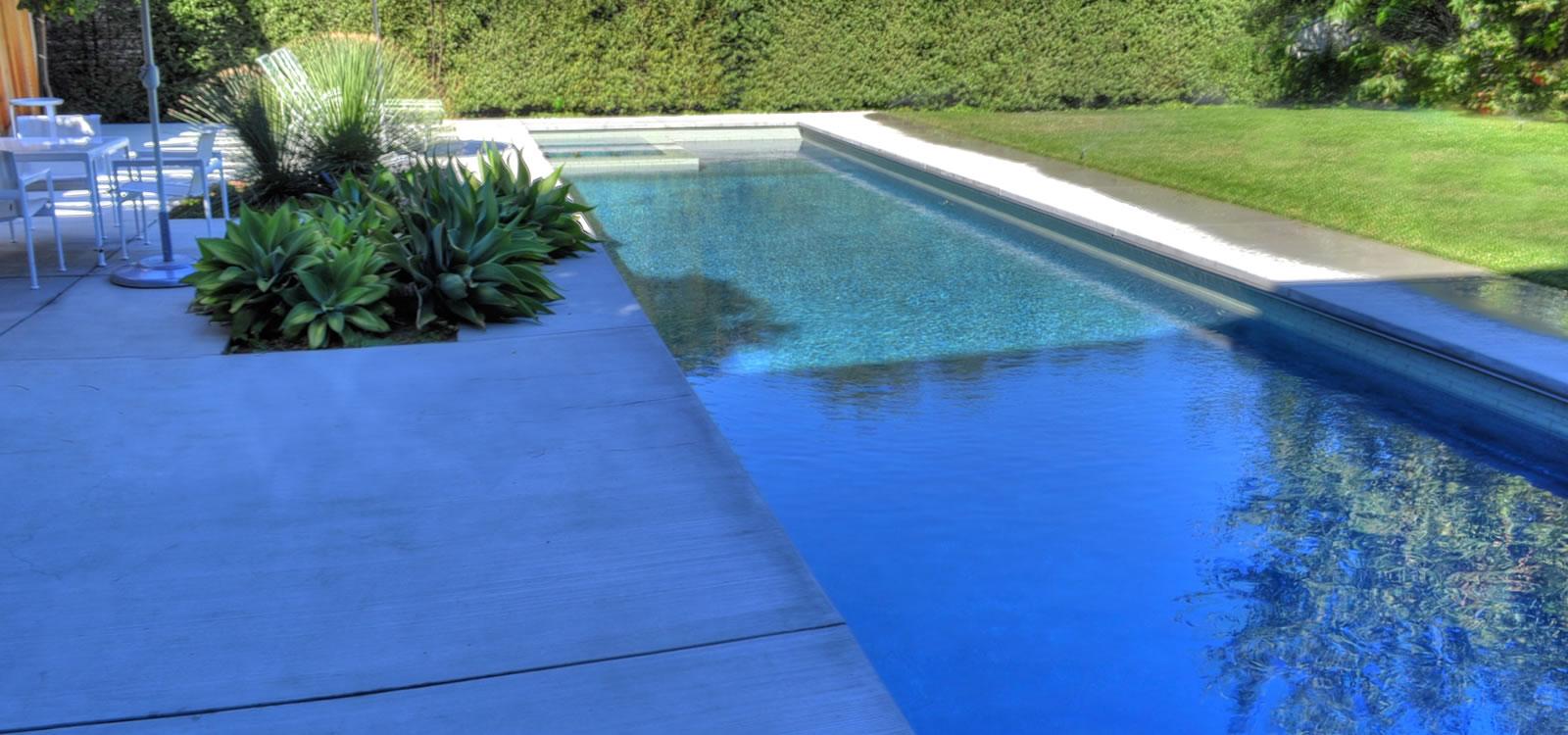 Venice pool spa design custom tile by john crystal pools for Pool design los angeles ca